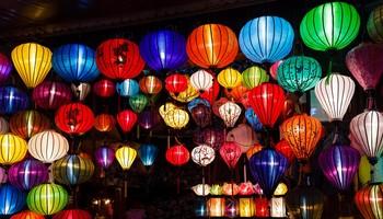 Reisebericht Vietnam - Leuchtende Lampios in Hoi An