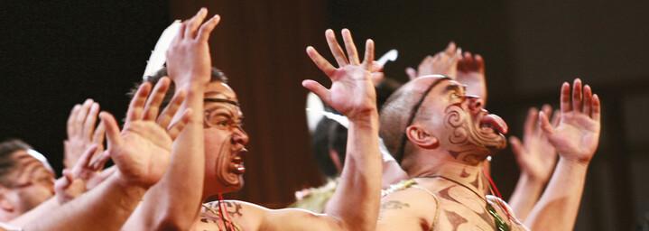 Maori Haka Tanz