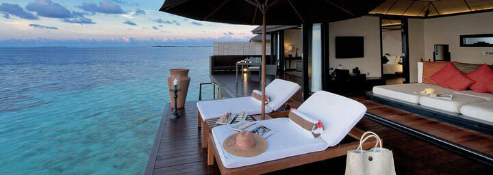 Lily Beach Resort and Spa - Deluxe Water Villa
