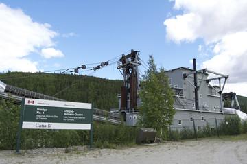 Yukon Reisbericht: Dredge No. 4 bei Dawson City