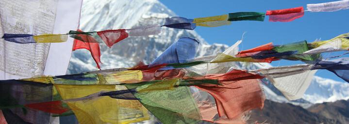 Berg in Pokhara