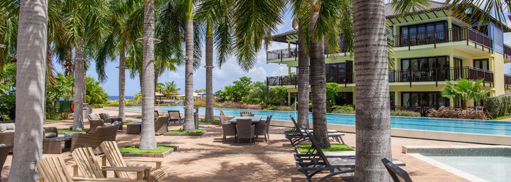 LionsDive Beach Resort Pool Area
