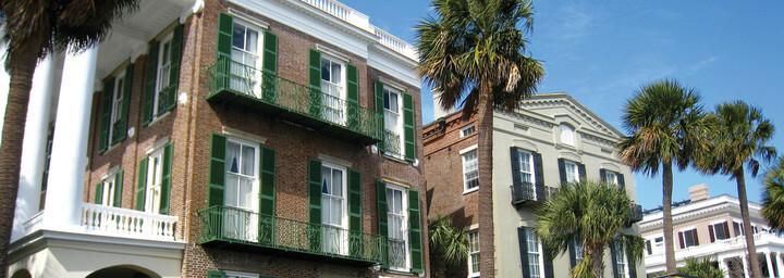 East Battery Promenade in Charleston