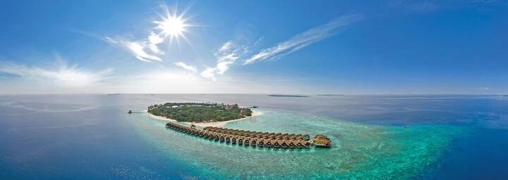 Reethi Faru Resort Außenansicht