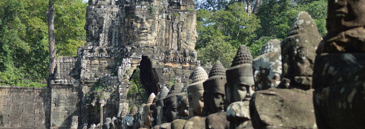 South Gate - Angkor Nationalpark in Siem Reap