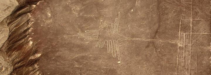 Nazca Linien aus der Luft