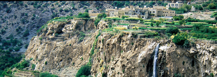 Jebel-Akhdar-Gebirgskette