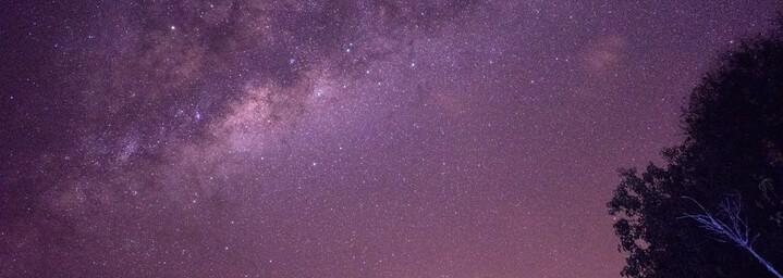 Sternenhimmel über dem Okavango Delta