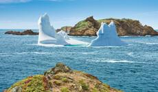 Eisbergbeobachtung