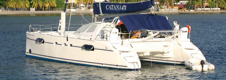 Außenansicht Katamaran Catana 471