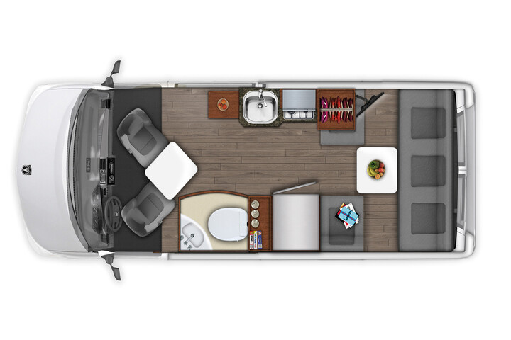 Floorplan bei Tag des US Tourer