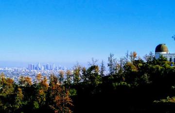 Reisebericht Kalifornien - Blick auf West Hollywood
