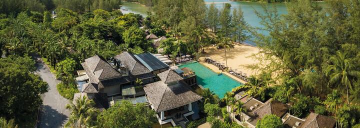 Außenansicht des Anantara Layan Phuket Resort