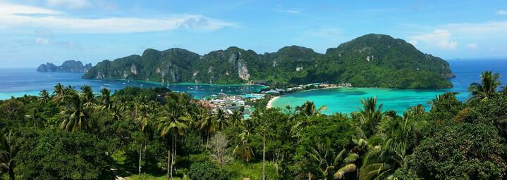 Aussichtspunkt auf Koh Phi Phi