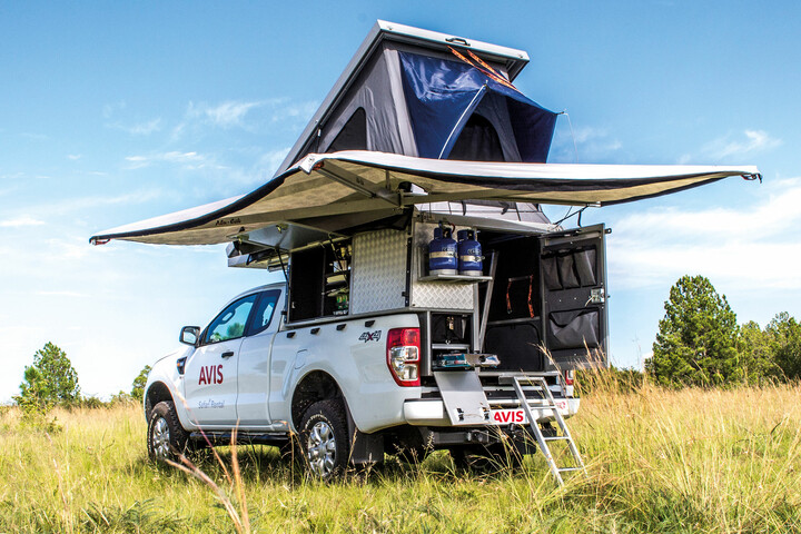 Avis Luxury Safari Camper (Pop up) Gruppe L