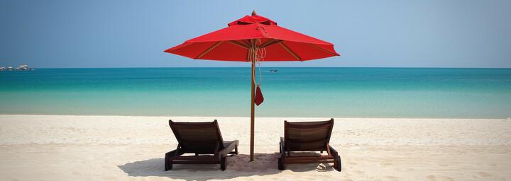 Strand des Anantara Rasananda Koh Phangan Villas
