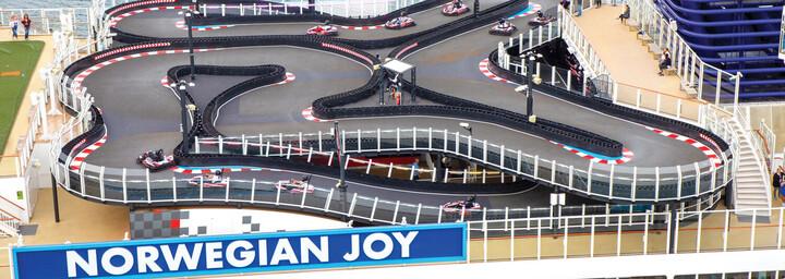 Norwegian Joy Kartbahn