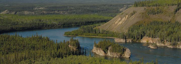 Yukon River Five Finger Rapids