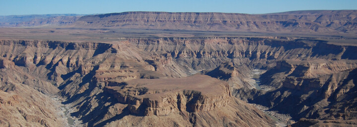 Reisebericht Namibia: Fish River Canyon