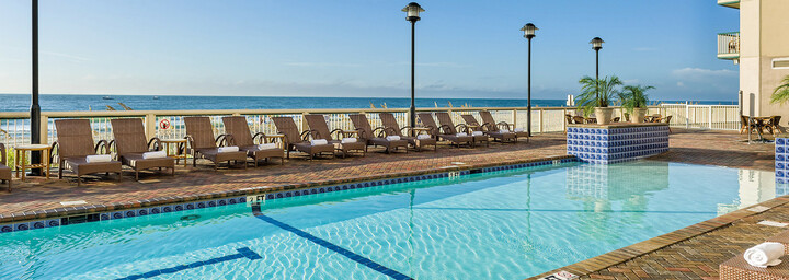 Pool des Westgate Myrtle Beach Oceanfront Resort