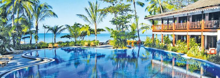 Pool des Sandoway Resort