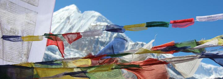 Gebirge nahe Pokhara