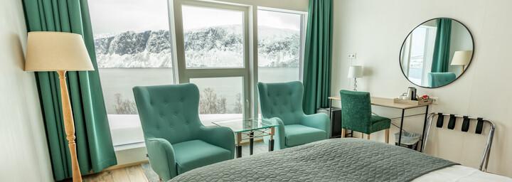 Arctic Panorama Lodge Zimmerbeispiel