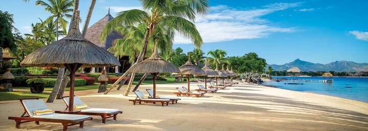 Strand des The Oberoi Beach Resort, Mauritius