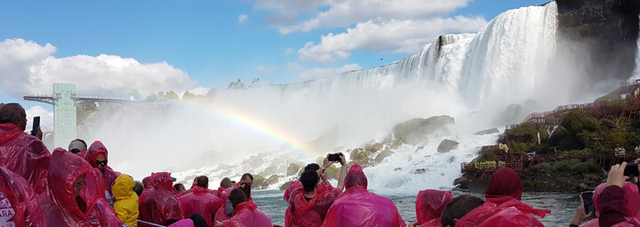 Bootstour zu den Niagarafällen