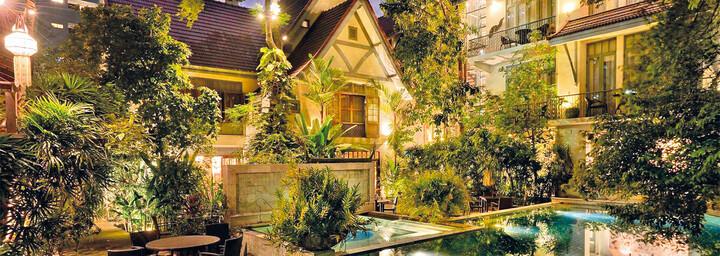 Außenansicht der Ariyasom Villa