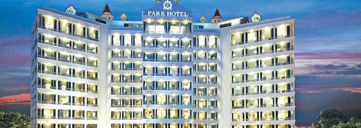 Außenansicht des Park Hotel Clarke Quay