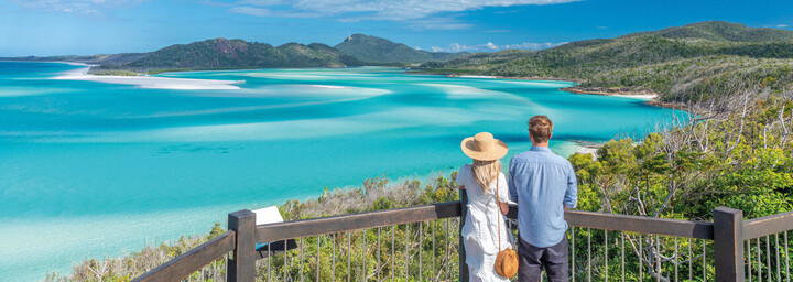 Whithaven Beach auf den Whitsunday Islands