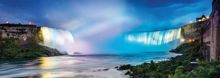 Niagarafälle beleuchtet