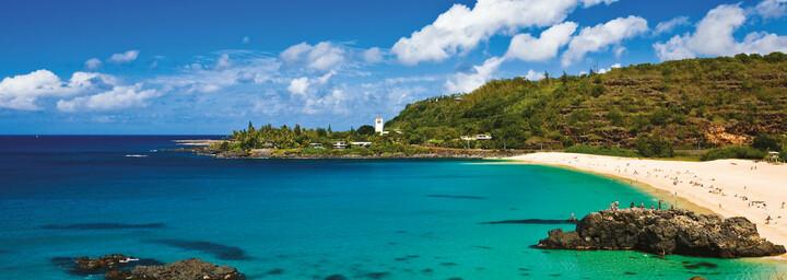 Strandbucht auf Oahu