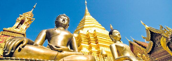 Goldener Tempel Chiang Mai