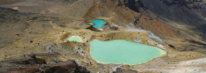Emerald Lake Tongariro Nationalpark