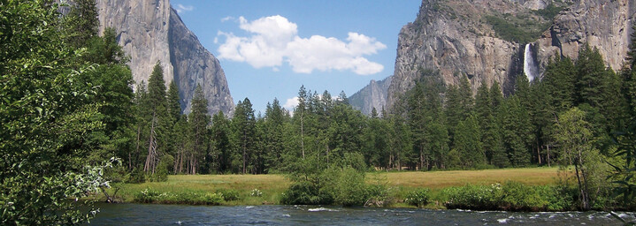 Yosemite River Valley Kalifornien