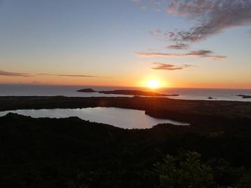 Madagaskar Reisebericht: Sonnenuntergang auf dem Mont Passot