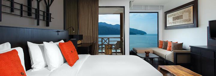Luxury-Zimmerbeispiel des The Andaman - A luxury Collection Resort auf Langkawi