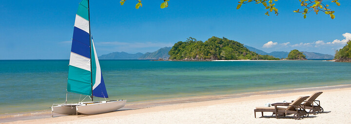 Strand des The Andaman - A luxury Collection Resort auf Langkawi