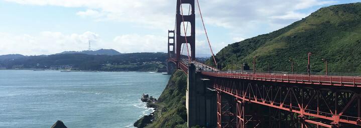 Reisebericht Kalifornien - Golden Gate Bridge in San Francisco