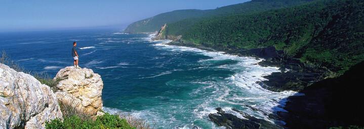 Küste der Wild Coast in Eastern Cape, Südafrika