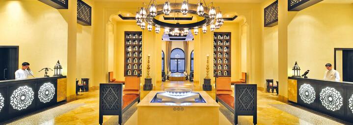 Lobby Qasr Al Sarab Desert Resort by Anantara Liwa-Wüste