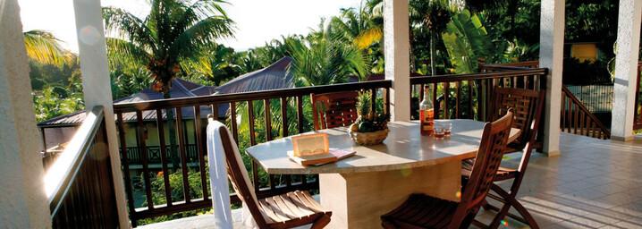 Habitation Grande Anse - Veranda