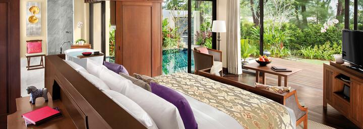 Zimmerbeispiel des Anantara Layan Phuket Resort