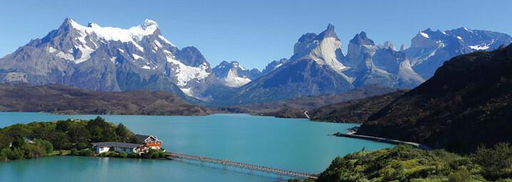 Torres del Paine mit Lago Pehoe