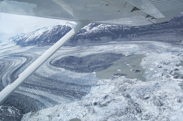 Reisebericht Yukon: Eisfeld im Kluane National Park
