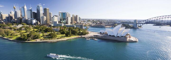 Sydney Opera House und Harbour Bridge