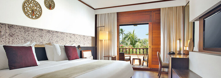 Nusa Dua Beach Hotel & Spa - Beispiel eines Deluxe Zimmers