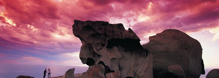 Kangaroo Island Felsen Sonnenuntergang